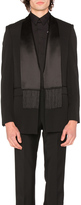 Givenchy Single Breast Scarf Collar Jacket
