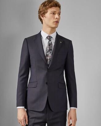 Ted Baker Debonair Subtle Check Wool Jacket