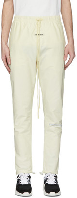 Essentials Off-White Canvas Lounge Pants