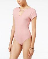 Ultra Flirt Juniors' Gigi Keyhole Bodysuit