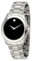 Movado Men's Junior Sport Stainless Steel Watch, 38.5mm