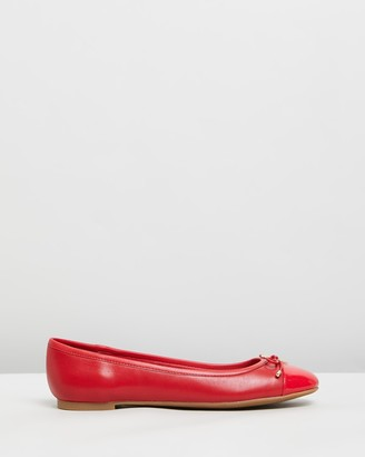Aldo Amoreira Leather Ballet Flats