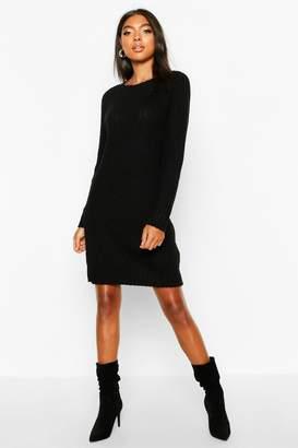 boohoo Tall Soft Knit Jumper Dress