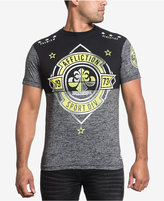 Affliction Men's Sport Division Cotton Colorblocked Graphic-Print Logo T-Shirt