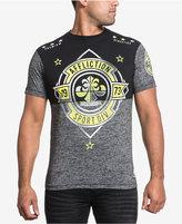 Affliction Men's Sport Division Cotton Colorblocked Graphic-Print Logo T-Shirt