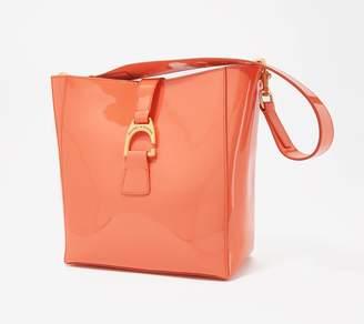 Dooney & Bourke Patent Leather Shoulder Bag - Lana