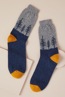 Catherine Tough Forest Socks