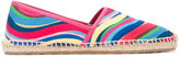 RED Valentino rainbow wave espadrilles - women - Cotton/Leather/rubber - 35