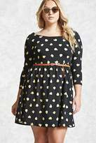 Forever 21 Plus Size Fit and Flare Dress