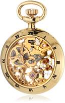 Catorex Men's 090.6.1402.000 Les Petites Brass Skeletal Dial Pocket Watch