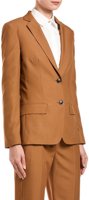 Agnona Wool Tailored Jacket