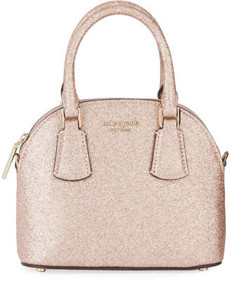 Kate Spade Sylvia Glitter Mini Dome Satchel Bag