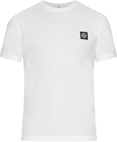 Stone Island Crew-neck cotton T-shirt