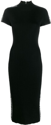 Philipp Plein ribbed knit dress