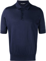 Dolce & Gabbana classic polo shirt - men - Silk - 48
