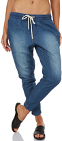 Swell Melbourne Chambray Trouser Blue
