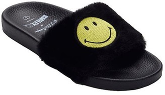 PJ Salvage Smiley Slide Slippers