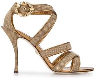 Dolce & Gabbana 115mm strappy sandals