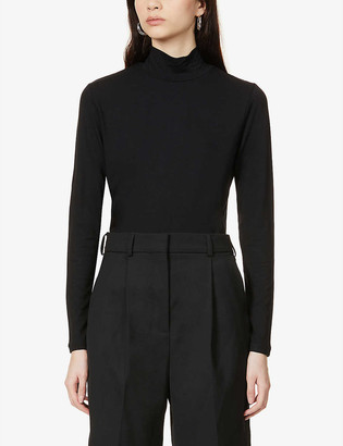 Won Hundred Roxy turtleneck stretch-woven top