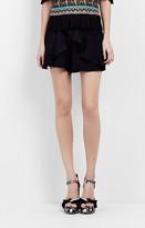 Nicole Miller Ruffle Shorts