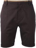 Al Duca D'Aosta 1902 - herringbone shorts - men - Cotton/Spandex/Elastane - 50