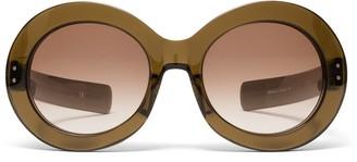 Oliver Goldsmith Sunglasses Koko 1966 Army Green