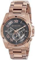Michael Kors Men's Brecken Rose Gold-Tone Watch MK8563