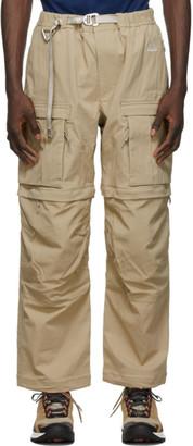 Nike Beige Smith Summit Cargo Pants