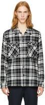 TOMORROWLAND Black and White Plaid Shirt