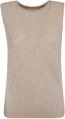 Fabiana Filippi Sequin-embellished Top