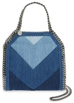 Stella McCartney Mini Falabella Denim Tote - Blue