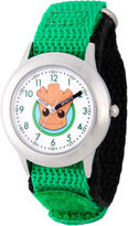 Marvel Guardian Of The Galaxy Boys Green Strap Watch-Wma000131
