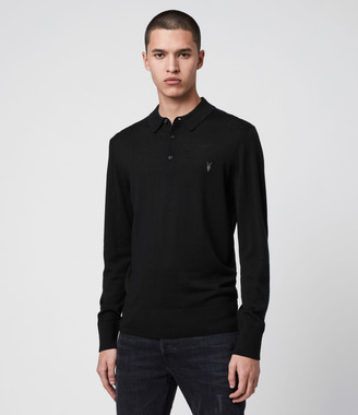 AllSaints Mode Merino Polo