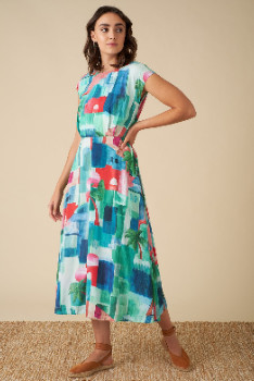 Emily And Fin Elodie Marrakech Landscape Dress - 16