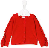 Il Gufo ruffled sleeve cardigan