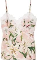 Dolce & Gabbana floral print camisole
