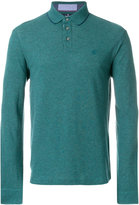 Hackett knitted polo top