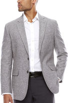 STAFFORD Stafford Linen Cotton Grey Sport Coat- Classic Fit