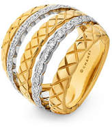 Chanel Coco Crush Ring In 18k Gold And Diamonds