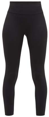 Vaara Millie High-rise Leggings - Womens - Black White