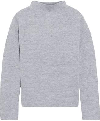Iris & Ink Aviva Melange Wool Sweater