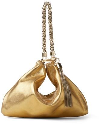 Jimmy Choo Metallic Callie Clutch Bag