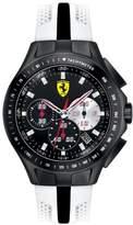 Ferrari Men's Sf103 0830026 White Silicone Analog Quartz Watch