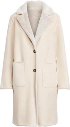Ralph Lauren Reversible Faux-Suede Coat