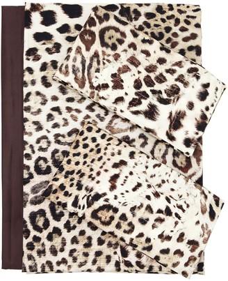 Roberto Cavalli Bravo Printed Cotton Duvet Cover Set