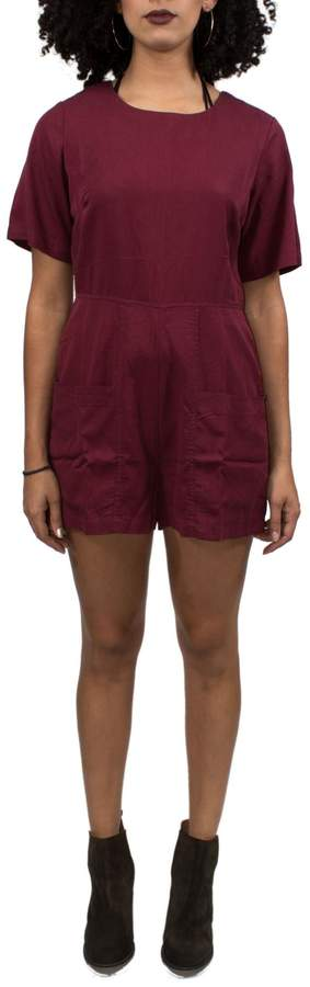 NATIVE YOUTH Red Playsuit