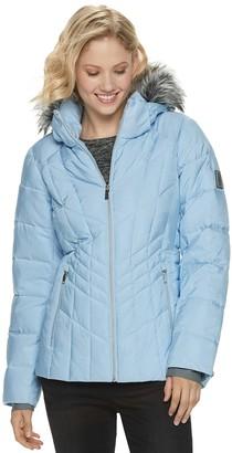 ZeroXposur Women's Shimmer Heavyweight Quilted Puffer Jacket
