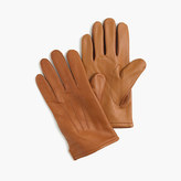 J.Crew Cashmere-lined leather smartphone gloves