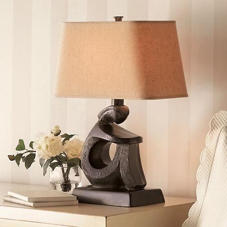 Gump's Seated Figure Lamp