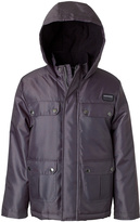iXtreme Charcoal Pocket-Accent Hooded Jacket - Toddler & Boys